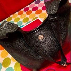 Tory Burch Leather Black Handbag